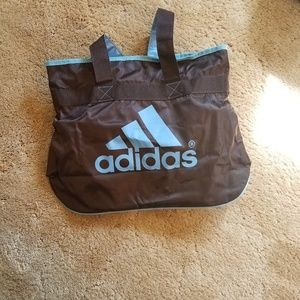 Adidas tote with zipper